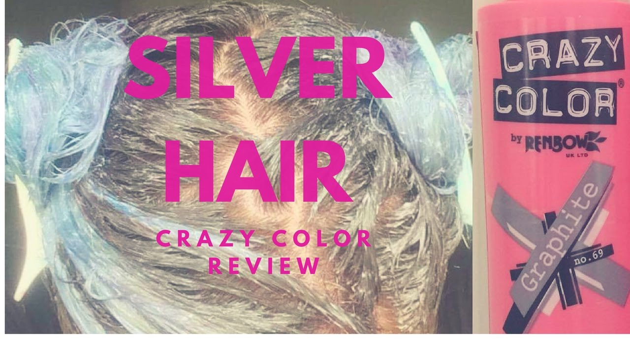 Silver Hair Crazy Color Review Youtube