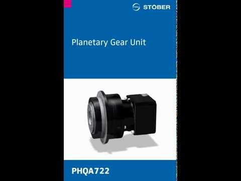 PHQ (A) Planetary Gear Unit