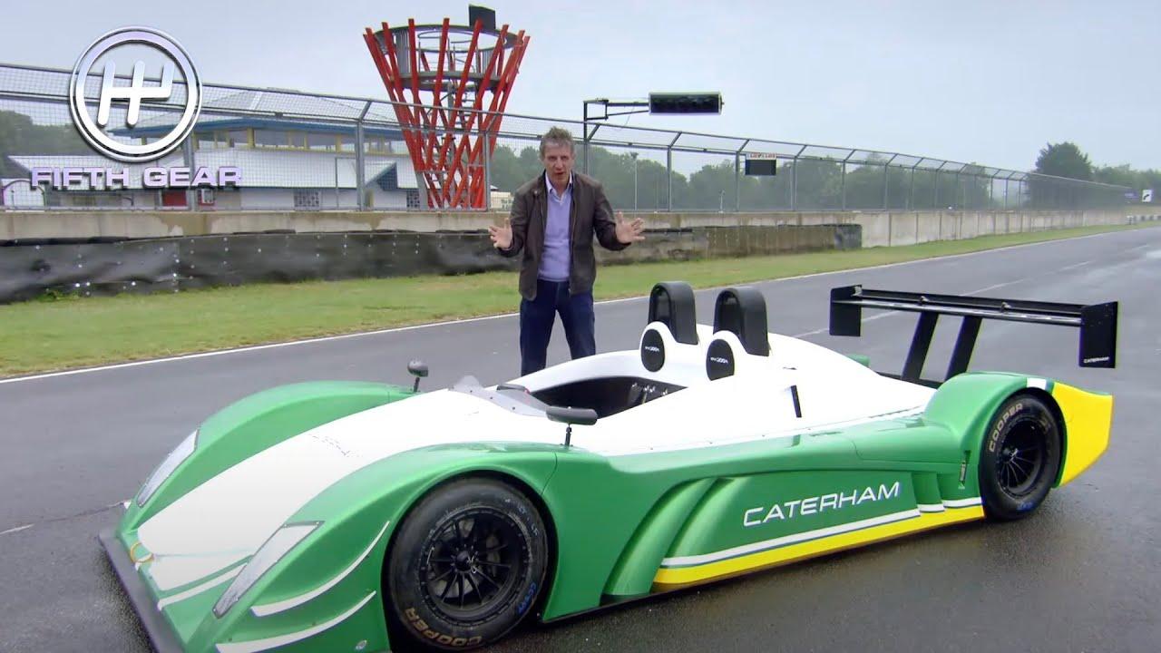 Download Plato's legendary Caterham track test   Fifth Gear