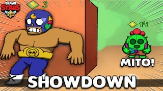 SPIKE NO SHOWDOWN É TOP! (Brawl Stars)