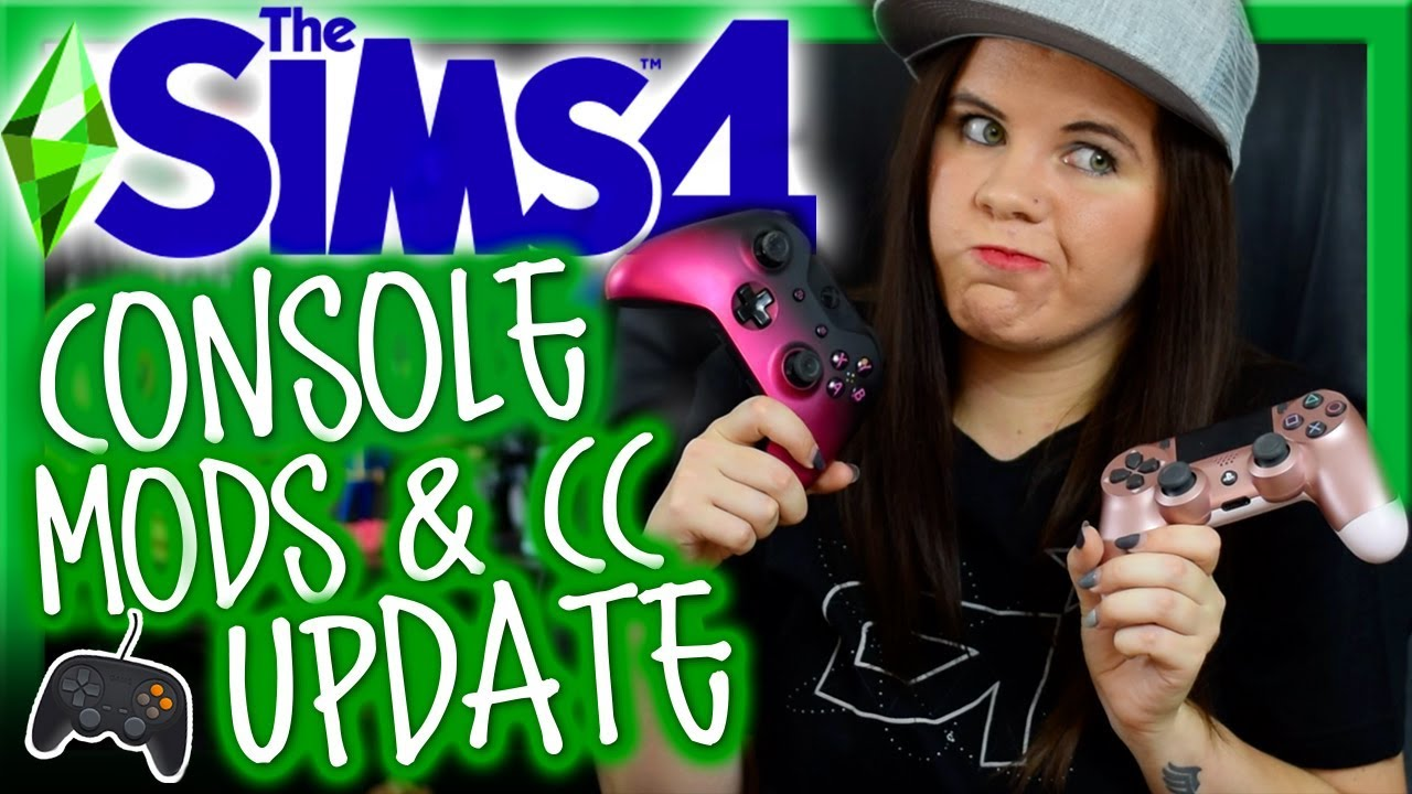 🎮 SIMS 4 CONSOLE MODS CC UPDATE ⚠️ Xbox PS4 Sims 4 Mods