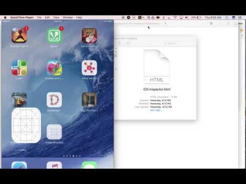 Appium v1 6 0 - How inspect iOS locators using Appium iOS Inspector