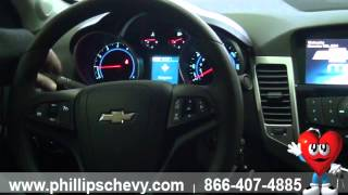 2015 Chevy Cruze 1LT - Interior Features - Phillips Chevrolet - Chicago Dealership New Car Sales