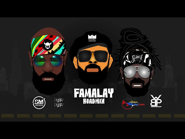 Skinny x Machel x Bunji - Famalay - Scratch Master x Puffy x Wetty Beats x Riddim Master Road Mix