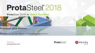 ProtaSteel 2018 Webineri