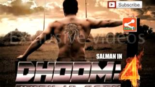 Salman khan dhoom 4 trailer - Deepika first look -Bollywood star cast in dhoom 4