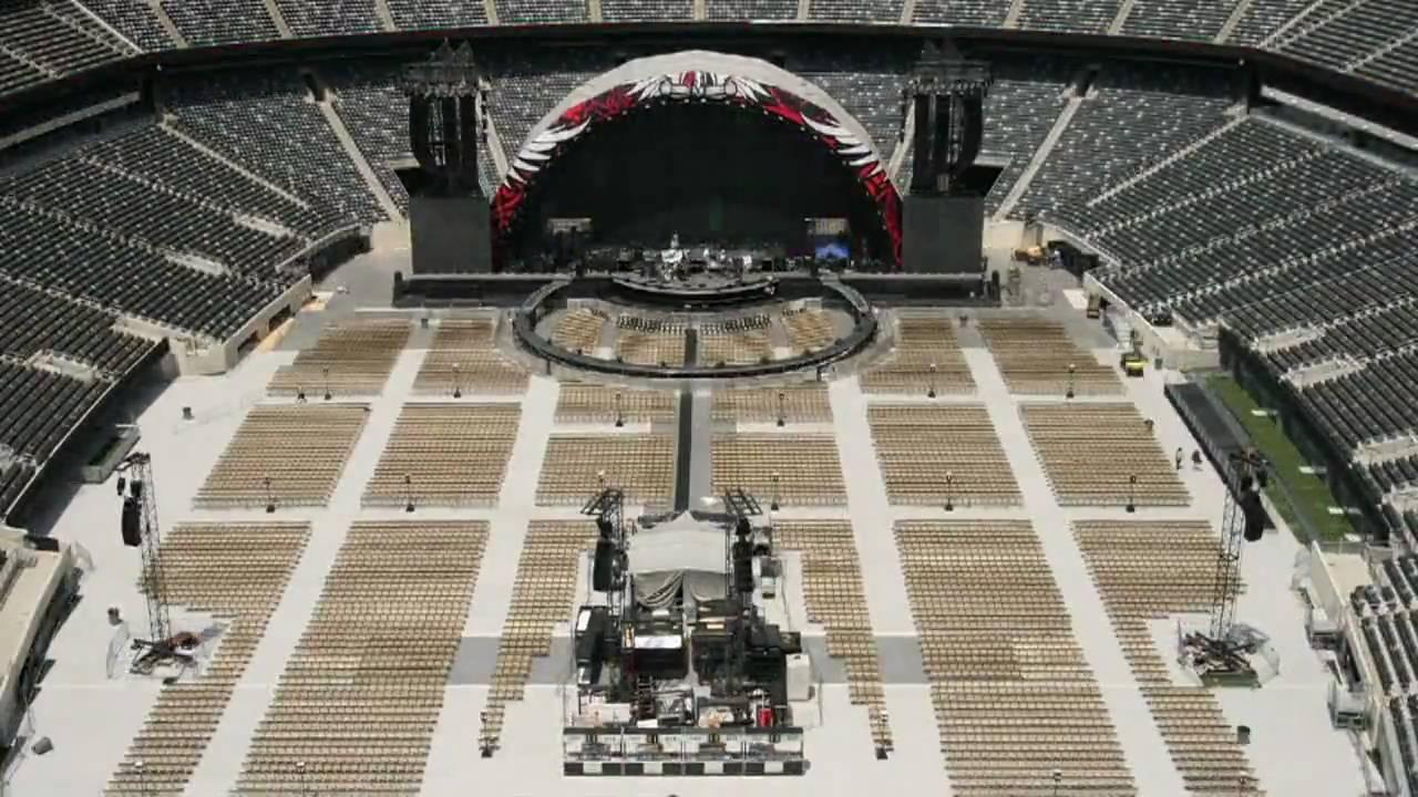 Bon Jovi The Circle Tour Stadium Set Up Time Lapse