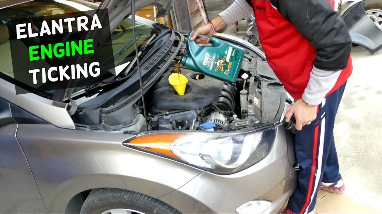 hight resolution of hyundai elantra engine noise knock ticking fix