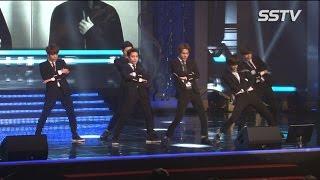 [SSTV] 엑소케이(EXO-K), 슈퍼주니어 무대 완벽재현! '카리스마 UP'