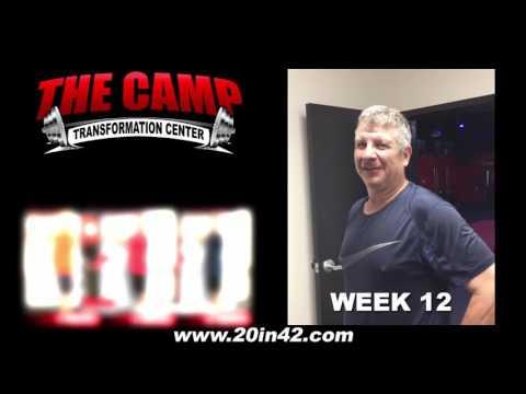 Jacksonville FL Weight Loss Fitness 12 Week Challenge Results - James Dillman