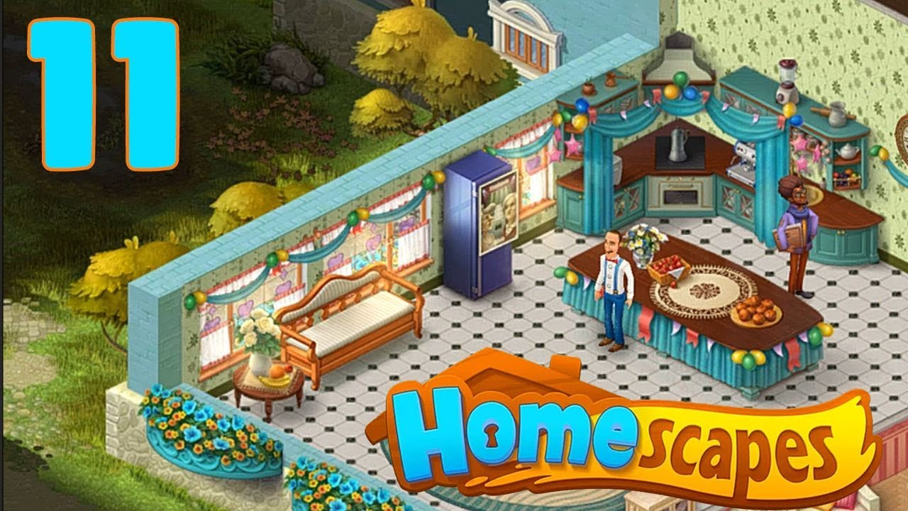 HOMESCAPES STORY WALKTHROUGH - PART 11 GAMEPLAY - ( iOS ...