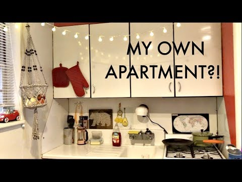 I Moved Out Before Graduating Unfinished Apartment Tour