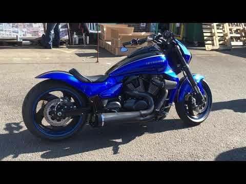 DG Hardkrome VPR exhaust Suzuki M109R M1800R VZR1800 Black