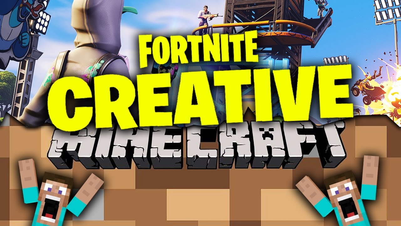 How Fortnite Creative Gets Bigger than Minecraft!