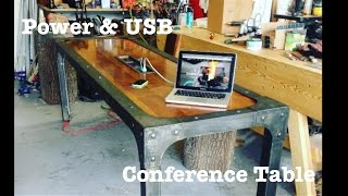 Industrial Power & USB Conference table | How-To
