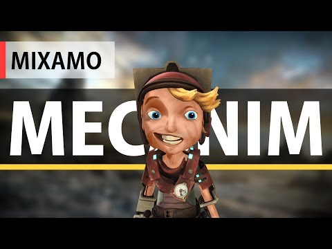 Unity3D & Mixamo Character Animation With Mecanim