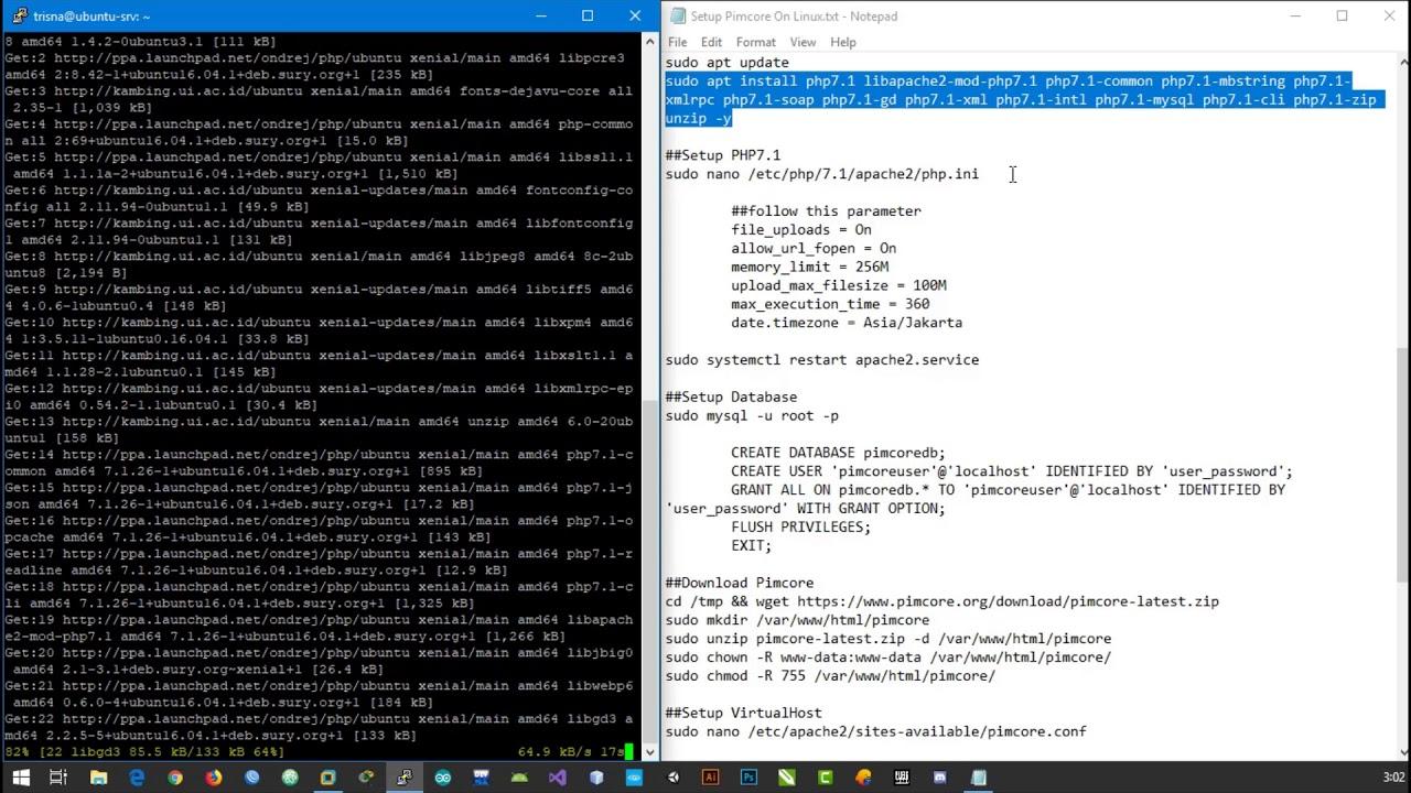 How To Setup Pimcore Ubuntu Server 16 04 - YouTube