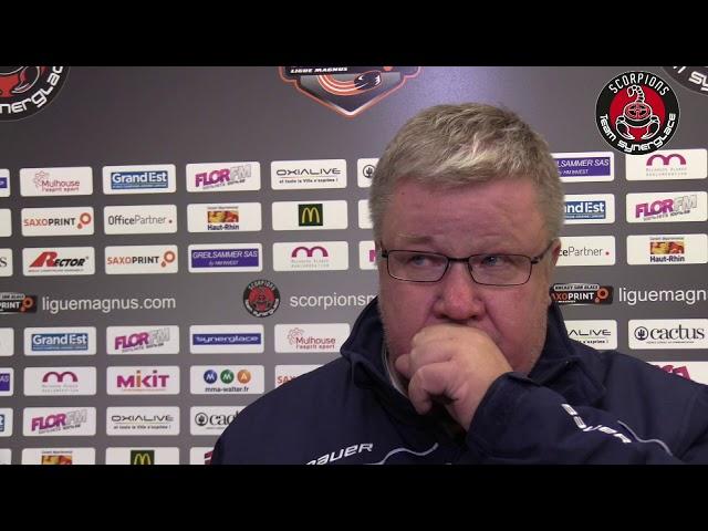 Mulhouse - Grenoble (19/09/2017) : Réactions d'après match