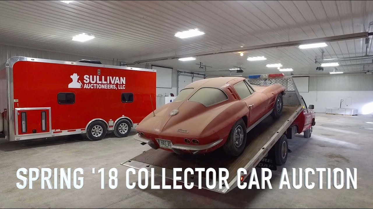 Spring \'18 Collector Car Auction Preview Video - YouTube