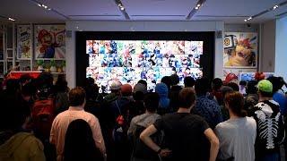 Super Smash Bros. Ultimate Direct 11.1.2018 Live Reactions at Nintendo NY