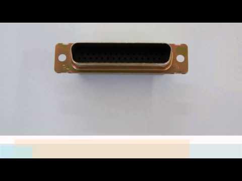 M24308/4 D-Sub High Density amp connector AMPLIMITE D-Sub Connectors new