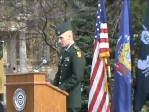 Veterans Day Ceremony and Panel Discussion