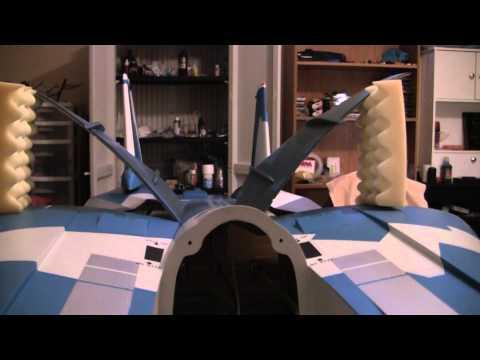 GJC 1/7 Scale F-14 Jet Build