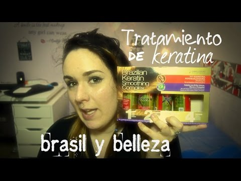 Tratamiento de queratina en casa con BRASILYBELLEZA I #beauty