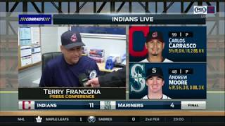 Terry Francona's Deep Purple ringtone briefly interrupts his postgame presser | Indians Live