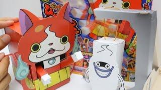 Yo-Kai Watch Paper Craft Jibanyan ~ 妖怪ウォッチ ひゃくれつジバニャン 小学一年生12月号 thumbnail