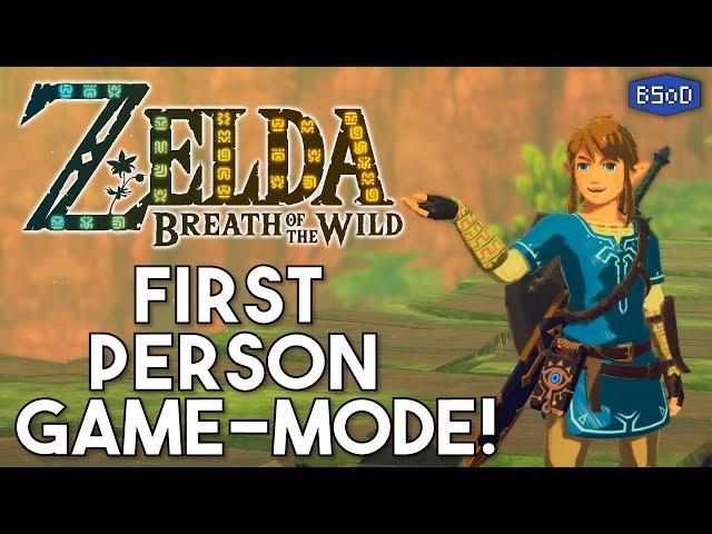 Zelda: Breath Of The Wild Looks Gorgeous In First Person Mod