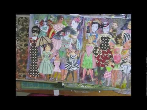 Junk Journal Finale, Paper Dolls, Organizing Ephemera Part 2