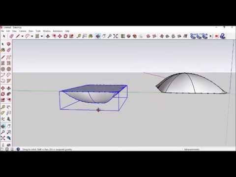 Sketchup Tutorial - Pillow Using Sandbox Extension - YouTube 53cf8b591