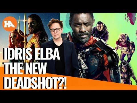 Idris Elba Close To Replace Will Smith as Deadshot | Warner Bros Loves James Gunn Script | Aquaman 2
