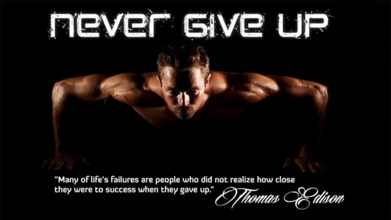 Bodybuilding Motivation Quotes Wallpaper Never Give Up Motivation Workout Dubstep Music To Running