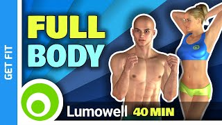 40 Minute Full Body Workout At Home Without Equipment