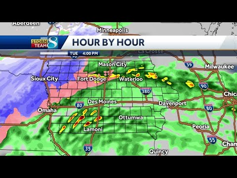 FUTURECAST: Latest Tracking, Totals Winter Storm