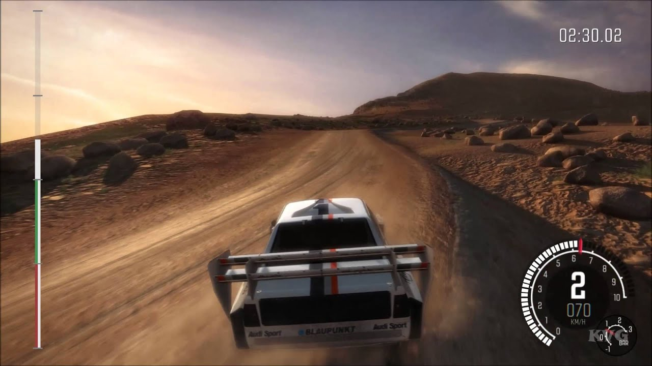 Dirt Rally Pikes Peak Mixed Surface Usa Sector 3 Gameplay Pc