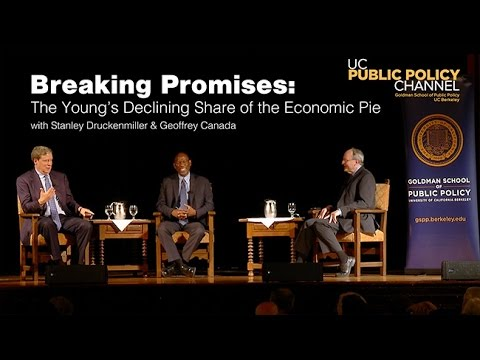 Breaking Promises: The Young's Declining Share of the Economic Pie with S.Druckenmiller G. Canada