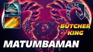 MATUMBAMAN Pudge Butcher King   Dota 2 Pro Gameplay