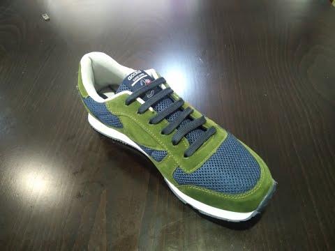 Новый способ шнуровки обуви и шнурки завязывать больше не нужно!!!