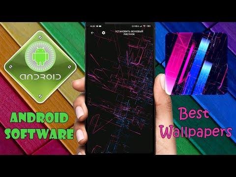 Топ - 3 лучших живых обоев для Андроид \ Живые обои в стиле Black Theme на Android