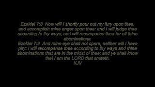 Ezekiel 7:8~9 KJV