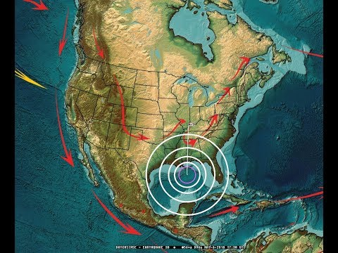 5/06/2018 -- RARE Earthquake in Gulf of Mexico NEXT TO DEEPWATER HORIZON / BP Oil spill rig