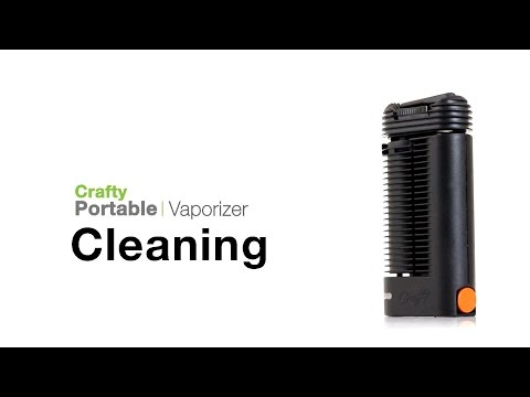 Crafty Vaporizer Cleaning Tips