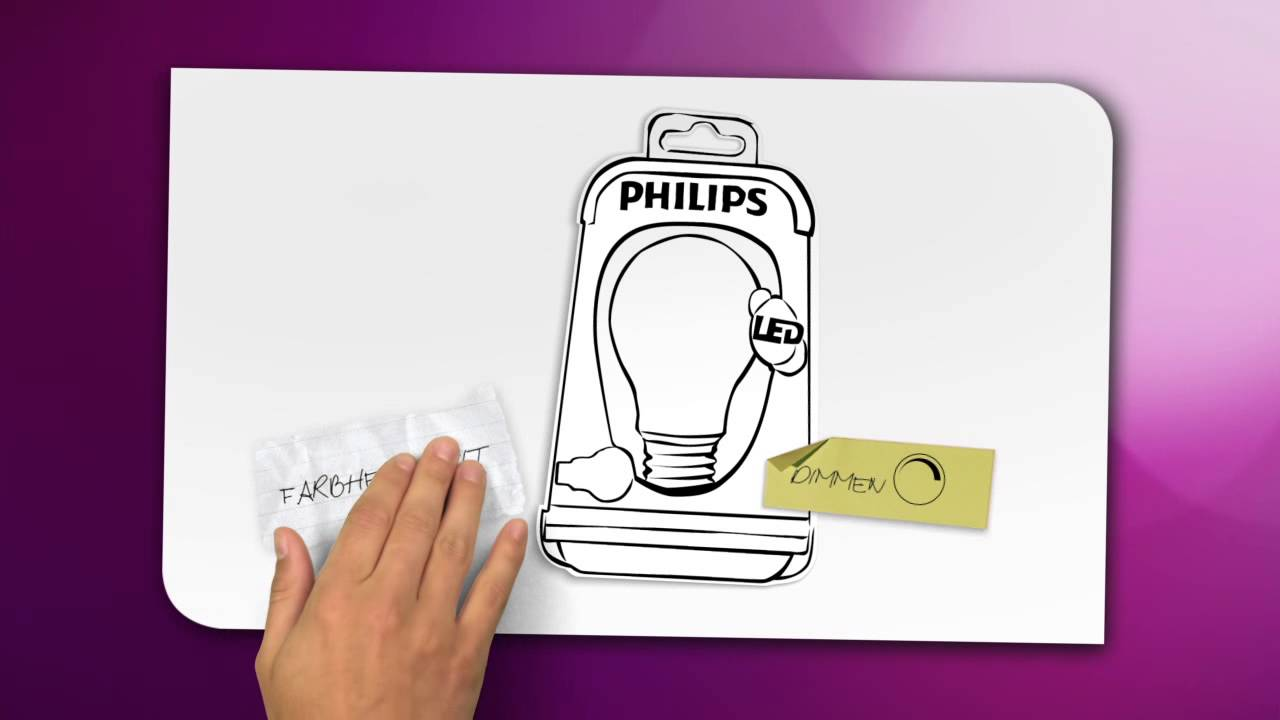 Philips Lighting Tutorial Dimmbare Led Lampen Youtube
