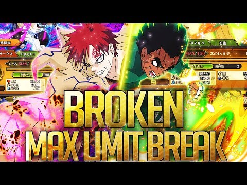 ** FINALLY THEY GOT LIMIT BREAKS & ITS WILD * | ** Naruto Ultimate Ninja Blazing *