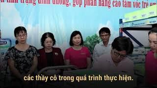 Sữa học đường TP. Hồ Chí Minh đã bắt đầu vào nhịp chỉ sau 2 tuần triển khai