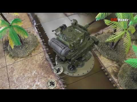 DUST TACTICS Babylon - USMC Allies vs Spetsnaz SSU (juego 39)