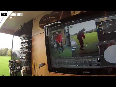 Live Golf Lesson Weight Shift